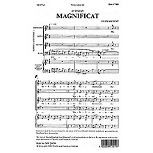 Novello Magnificat SSAATTBB Composed by Giles Swayne