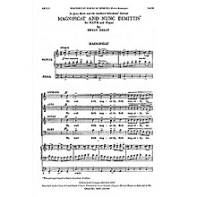 Novello Magnificat and Nunc Dimittis (Latin American) SATB Composed by Bryan Kelly