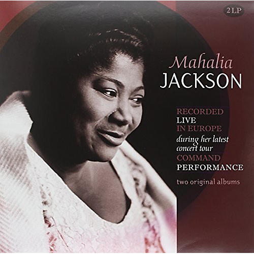 Alliance Mahalia Jackson - Recorded Live in Europe