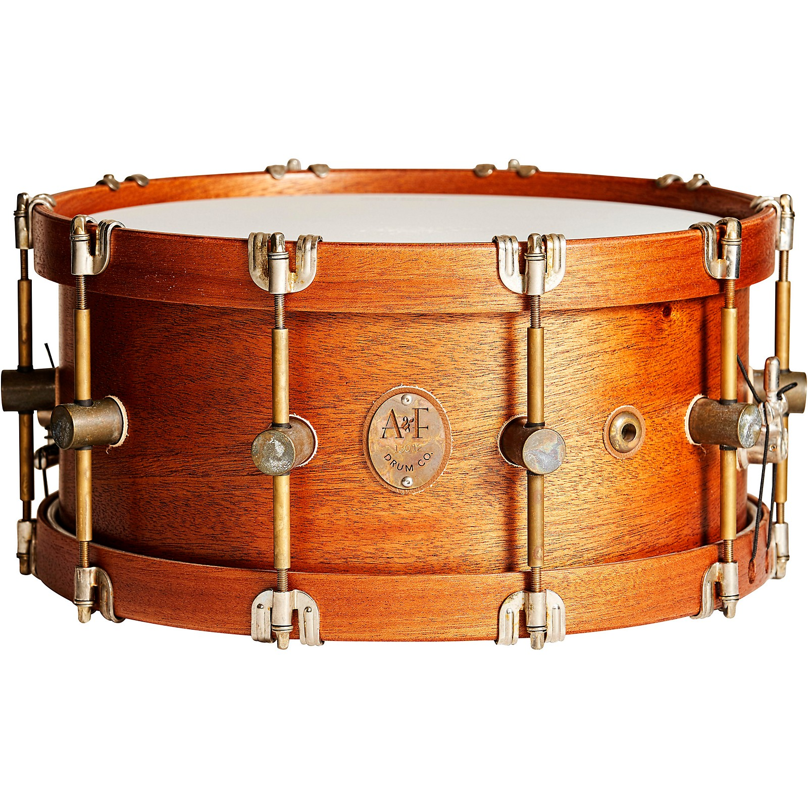 A&F Drum Co Mahogany Club Snare