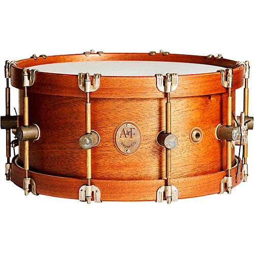 A&F Drum Co Mahogany Club Snare 14 x 6.5 in.