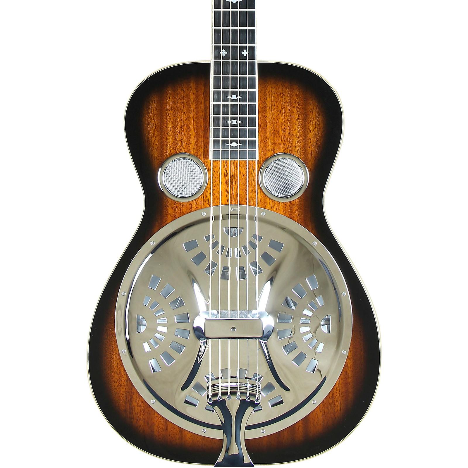Beard Guitars Mahogany Square Neck Left-Handed Resonator Guitar