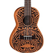 Luna Guitars Mahogany Tribal Tenor Ukulele