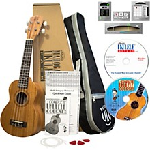 eMedia Mahogany Ukulele Pack with Lessons
