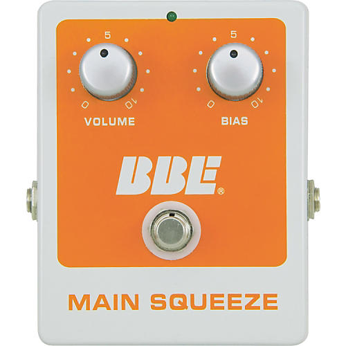 BBE Main Squeeze Compressor Effect Pedal