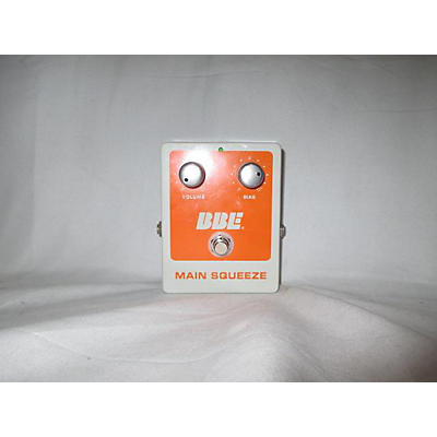 BBE Main Squeeze Effect Pedal