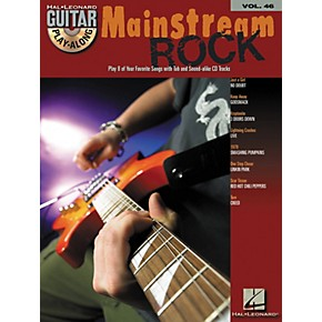 hal leonard mainstream rock guitar play along volume 46 book with cd musician 39 s friend. Black Bedroom Furniture Sets. Home Design Ideas