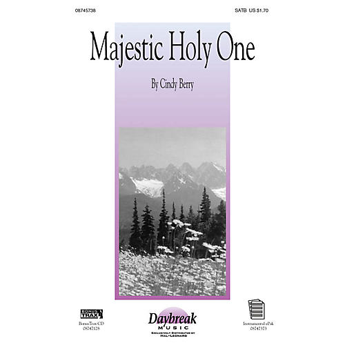Daybreak Music Majestic Holy One IPAKO Composed by Cindy Berry