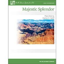 Willis Music Majestic Splendor - Early Intermediate Piano Solo Sheet