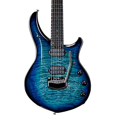 Ernie Ball Music Man Majesty 6 Quilt Top Electric Guitar