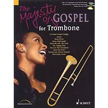 Schott Majesty of Gospel (Trombone) Schott Series Softcover with CD
