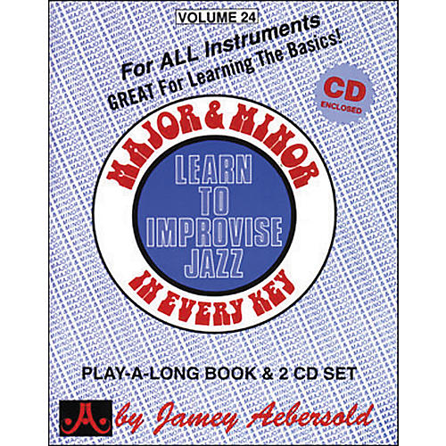 Jamey Aebersold Major & Minor In Every Key - Learn to Improvise Jazz (Book/CD)