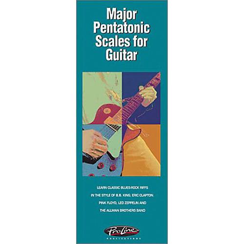 Hal Leonard Major Pentatonics Scales for Guitar Book