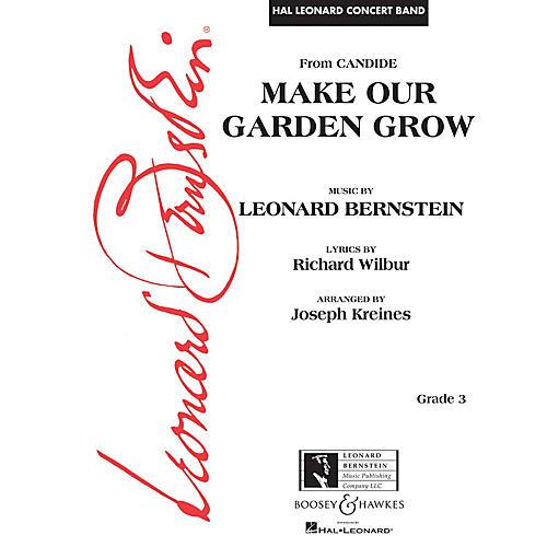 Leonard Bernstein Music Make Our Garden Grow (from Candide) Concert Band Level 3 arranged by Joseph Kreines