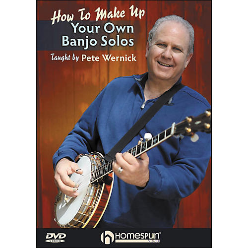 Homespun Make Up Your Own Banjo Solos DVD 1 By Pete Wernick