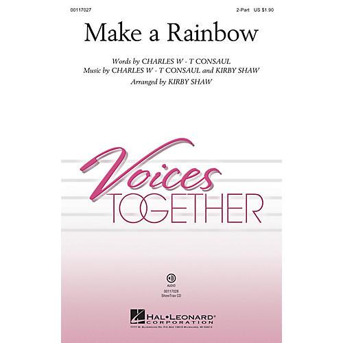 Hal Leonard Make a Rainbow ShowTrax CD Arranged by Kirby Shaw