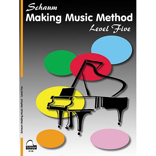 SCHAUM Making Music Method Educational Piano Book by John W. Schaum (Level Late Inter)
