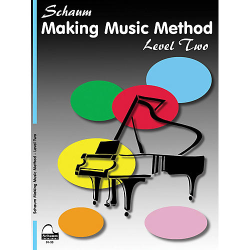 SCHAUM Making Music Method (Level 2 Late Elem Level) Educational Piano Book by John W. Schaum