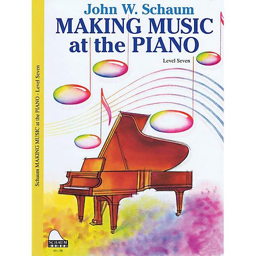 SCHAUM Making Music Method (Level 7 Advanced Level) Educational Piano Book by John W. Schaum