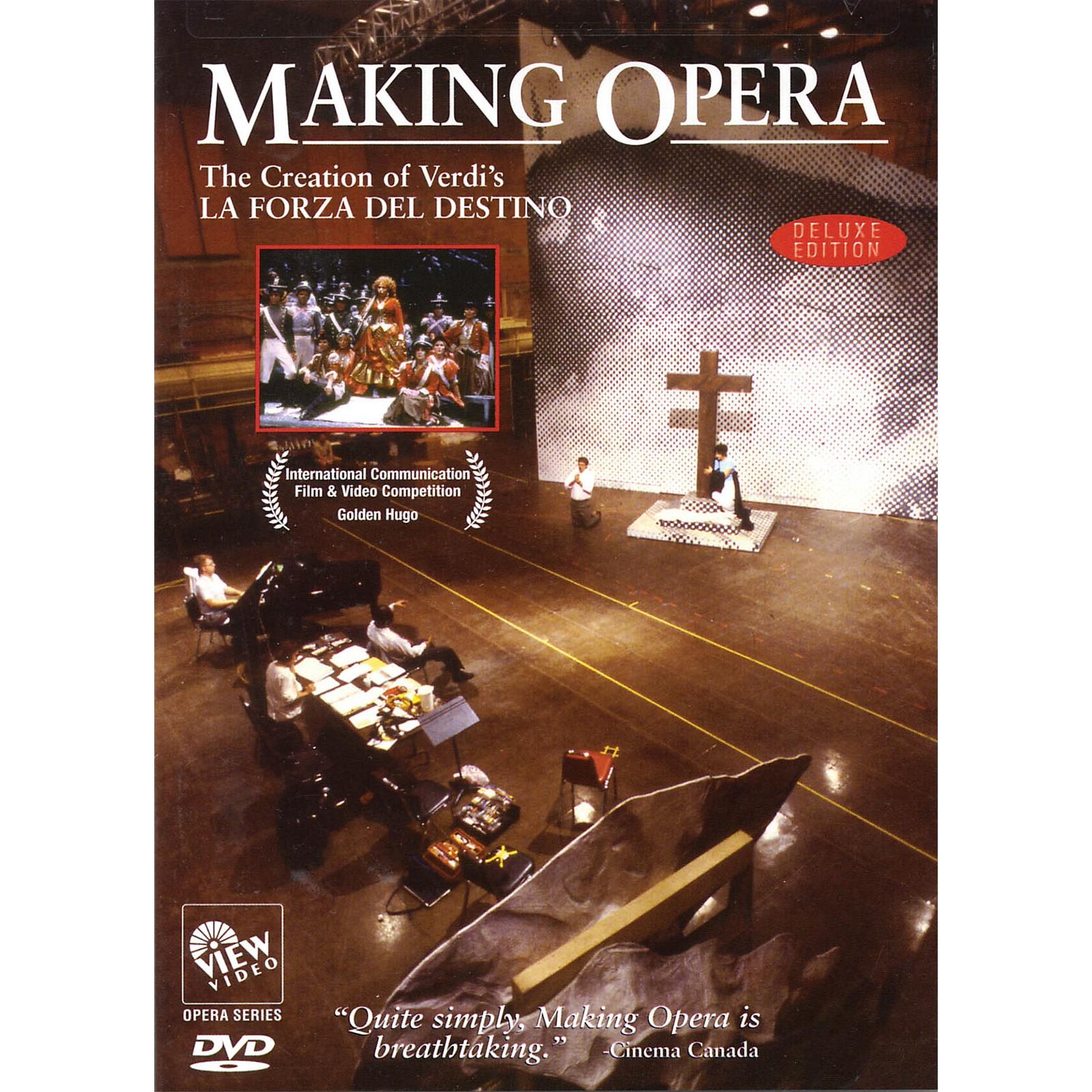 View Video Making Opera - The Creation of Verdi's La Forza Del Destino Live/DVD Series DVD