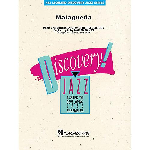 Hal Leonard Malagueña Jazz Band Level 1-2 by Stan Kenton Arranged by Michael Sweeney