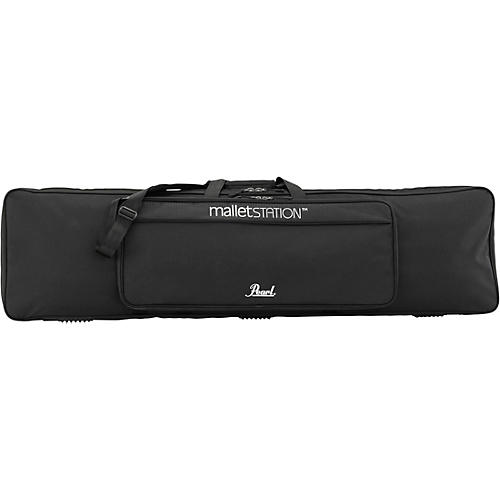 Pearl Mallet Station bag, soft side padded sleeve with accessory pouch