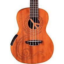 Open BoxLuna Guitars Maluhia Concert Acoustic-Electric Ukulele