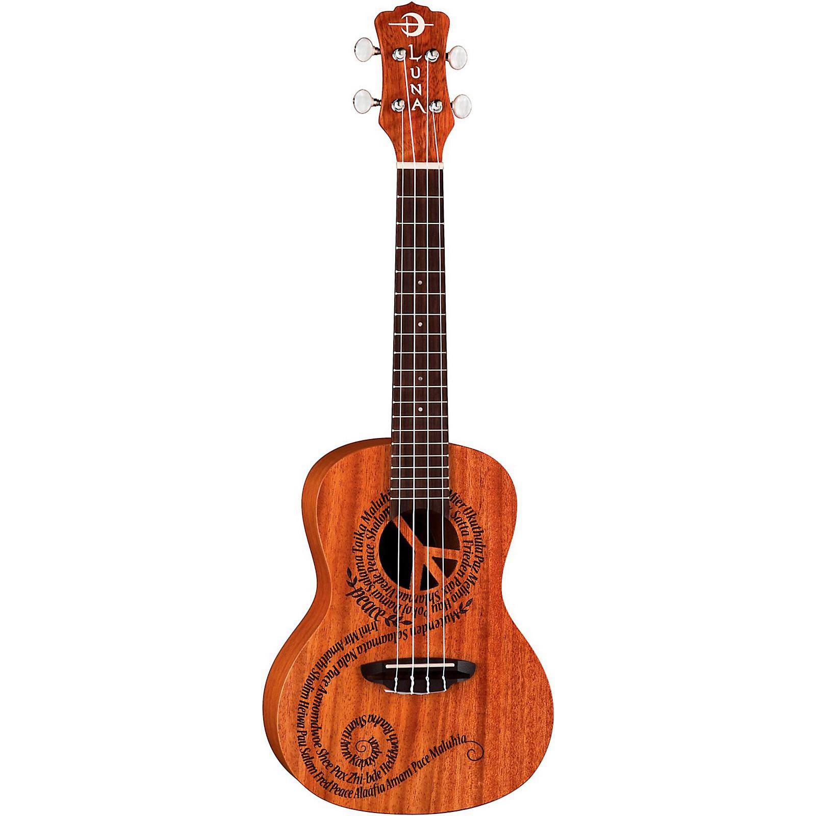 Luna Guitars Maluhia Concert Ukulele