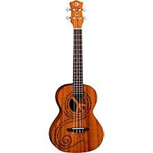 Open BoxLuna Guitars Maluhia Peace Tenor Ukulele