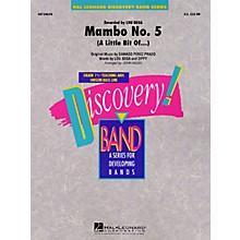 Hal Leonard Mambo No. 5 (A Little Bit Of...) Concert Band Level 1 1/2 Arranged by John Moss