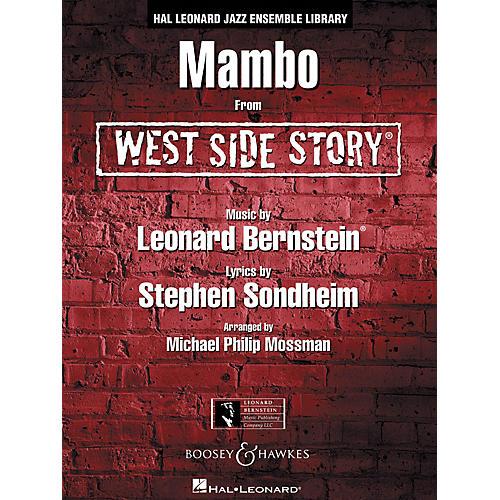Leonard Bernstein Music Mambo (from WEST SIDE STORY) Jazz Band Level 4 Arranged by Michael Philip Mossman