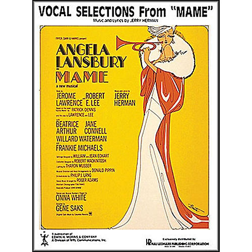 Hal Leonard Mame Vocal Selections arranged for piano, vocal, and guitar (P/V/G)