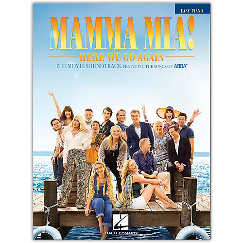 Hal Leonard Mamma Mia! - Here We Go Again Easy Piano Songbook