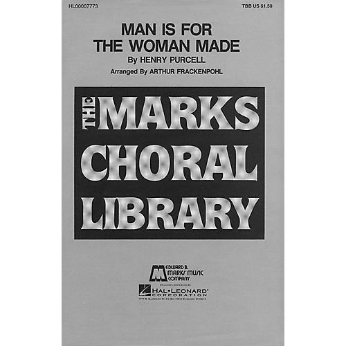 Edward B. Marks Music Company Man Is for the Woman Made TBB composed by Henry Purcell