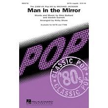 Hal Leonard Man in the Mirror TTBB A Cappella by Michael Jackson Arranged by Kirby Shaw