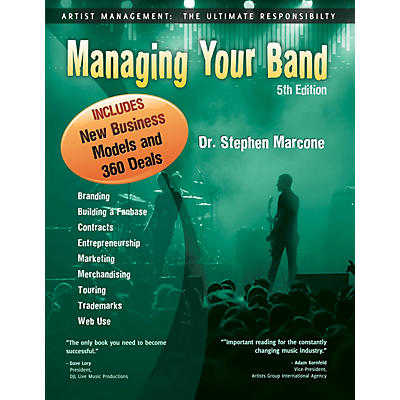 HiMarks Publishing Co. Managing Your Band (5th Edition) Book Series Softcover Written by Dr. Stephen Marcone
