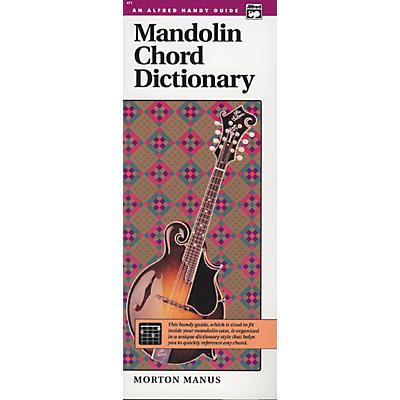 Alfred Mandolin Chord Dictionary