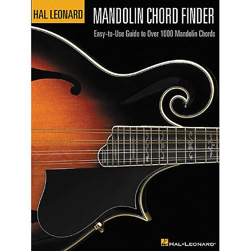 Hal Leonard Mandolin Chord Finder 12x9 Book