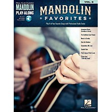 Hal Leonard Mandolin Favorites - Mandolin Play-Along Vol. 8 Book/Audio Online
