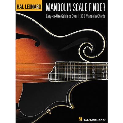 Hal Leonard Mandolin Scale Finder 9x12 Book