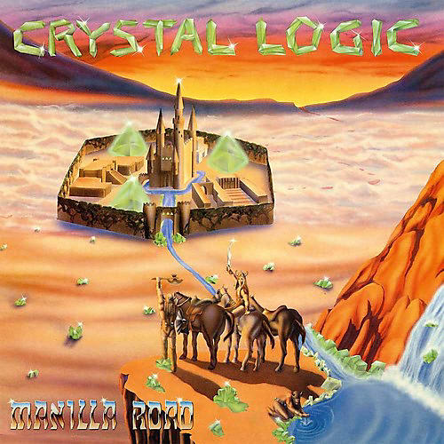 Alliance Manilla Road - Crystal Logic (Transparent Blue Vinyl)