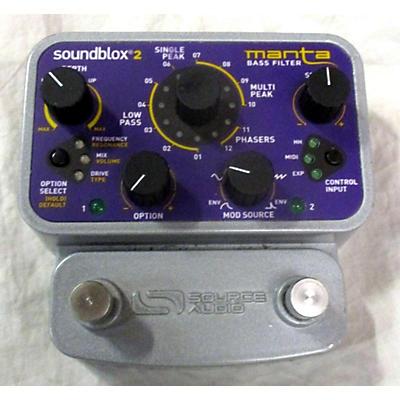 Source Audio Manta Bass Effect Pedal