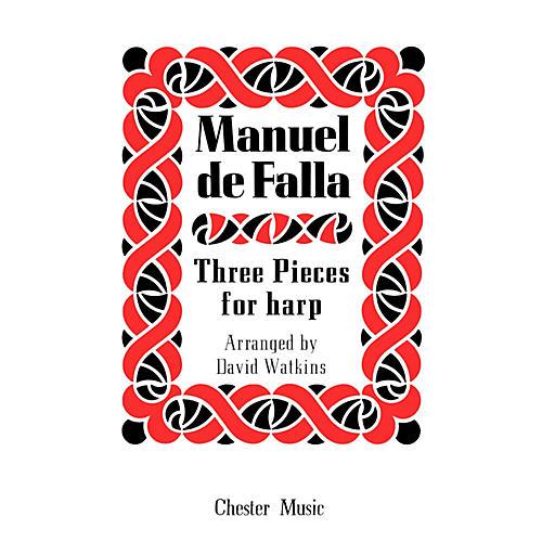 Music Sales Manuel De Falla: Three Pieces For Harp Music Sales America Series
