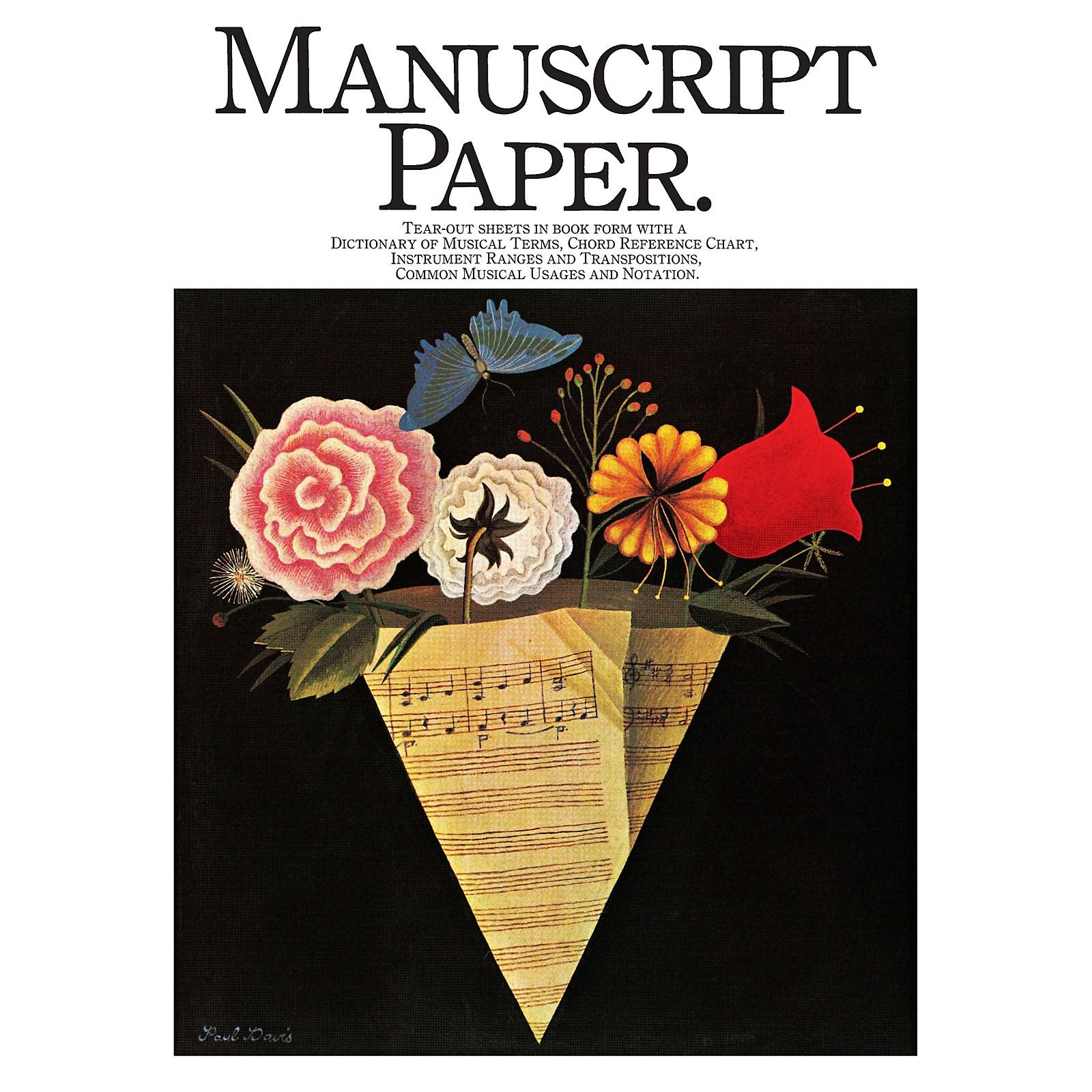 Music Sales Manuscript Paper (EFS 117) Music Sales America Series Softcover