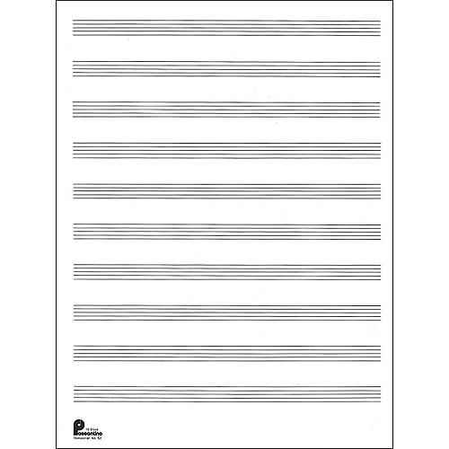 staff paper for music
