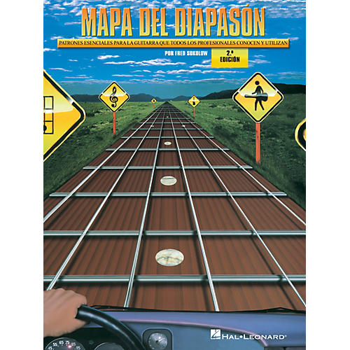 Hal Leonard Mapa del Diapason - 2.0 Edición Guitar Educational Series Softcover with CD Written by Fred Sokolow