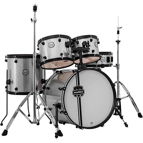 mapex mapex voyager jazz 5 piece drum set with black hardware crystal sparkle musician 39 s friend. Black Bedroom Furniture Sets. Home Design Ideas