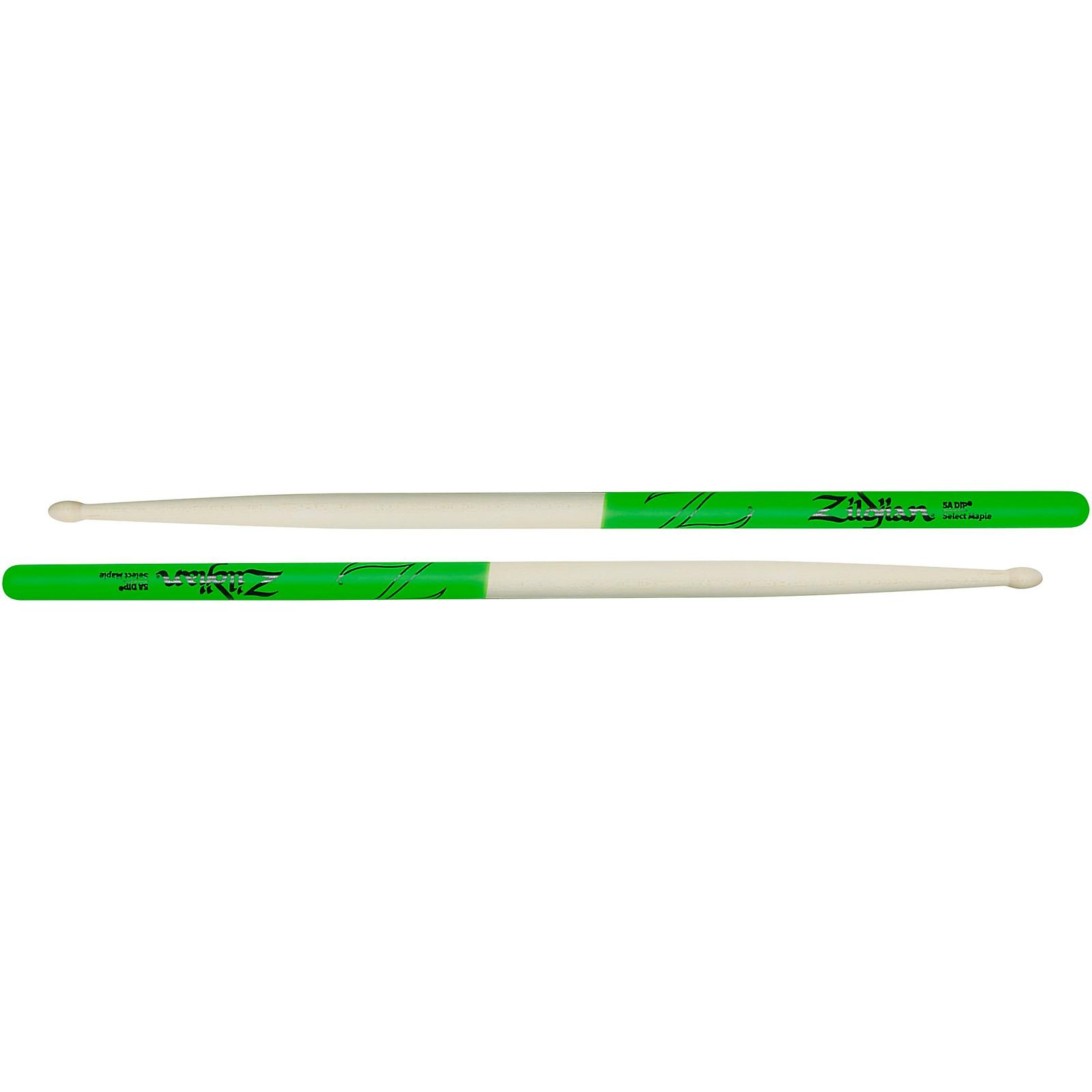 Zildjian Maple Green DIP Drum Sticks
