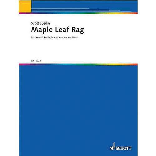 Schott Maple Leaf Rag (Score and Parts) Schott Series by Joplin Scott