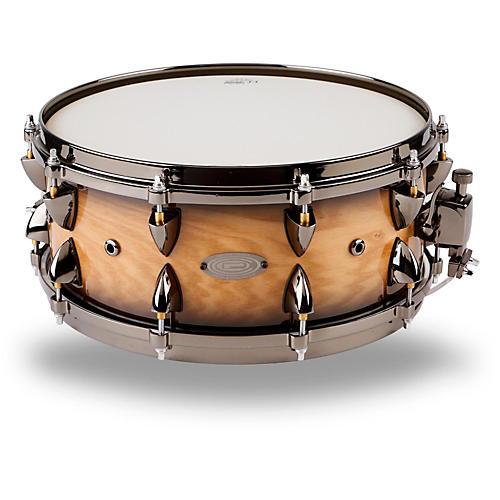 Orange County Drum & Percussion Maple Snare Condition 1 - Mint 14 x 6 in., Natural Black Burst